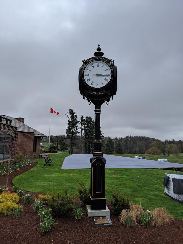 HG&CC Clock