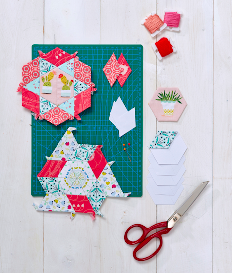 English Paper Piecing, Love Patchwork & Quilting #72