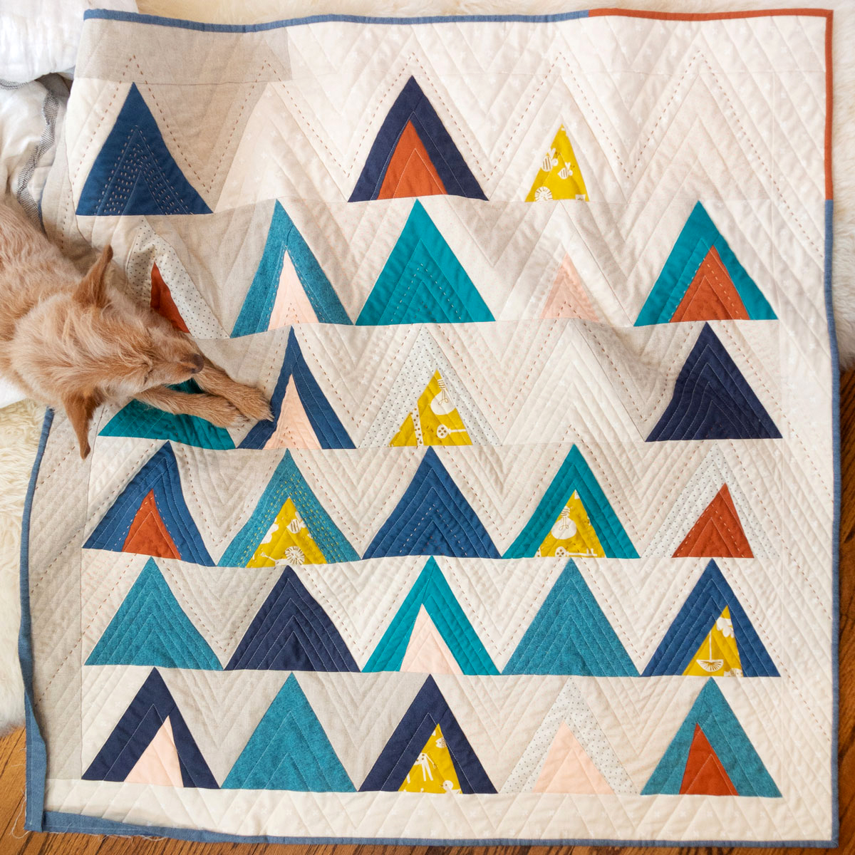 Mod Mountains by Suzy Quilts