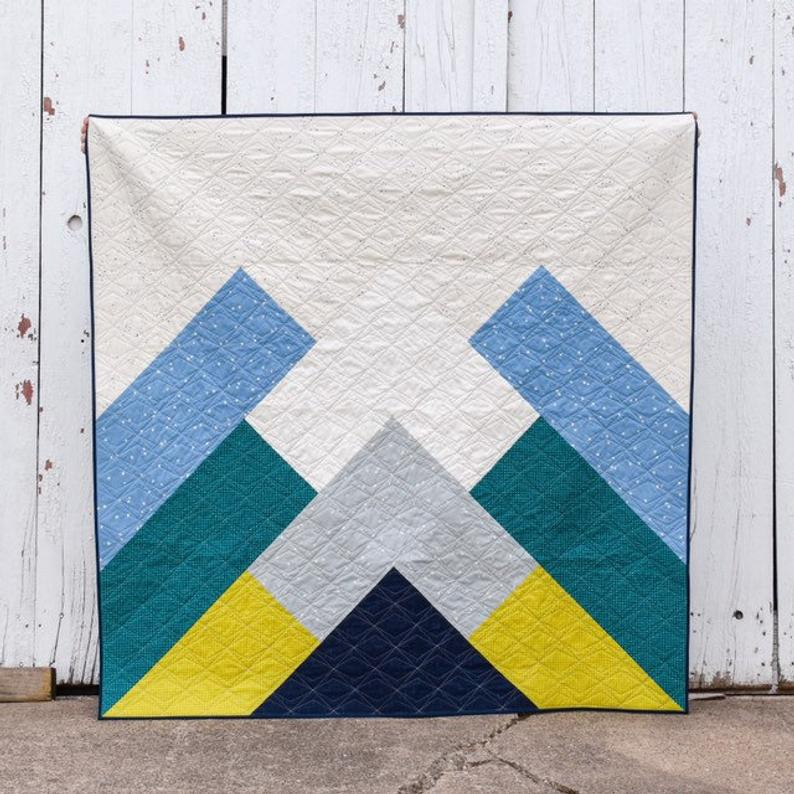 Misty Mountains by Eliane (Patchwork & Poodles)