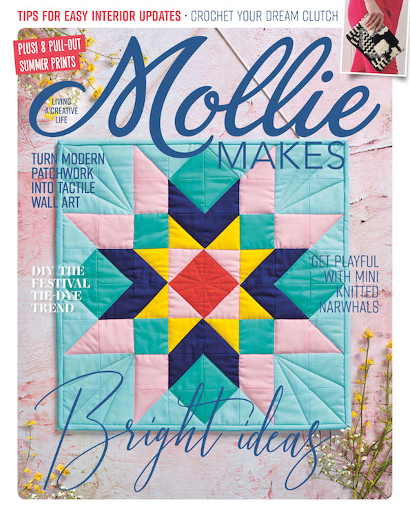 Mollie Makes #107 cover project