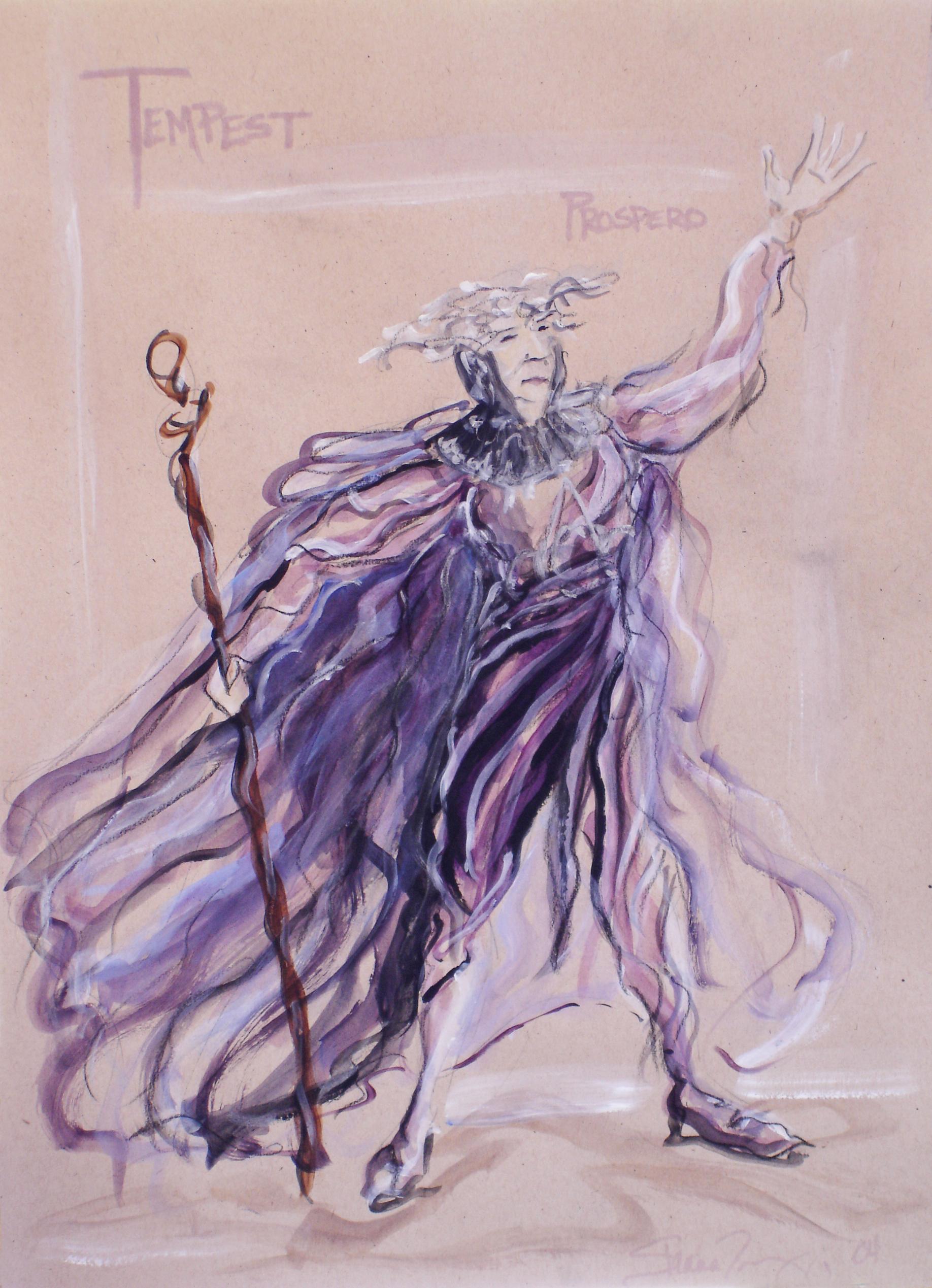 Concept Rendering - Prospero, The Tempest