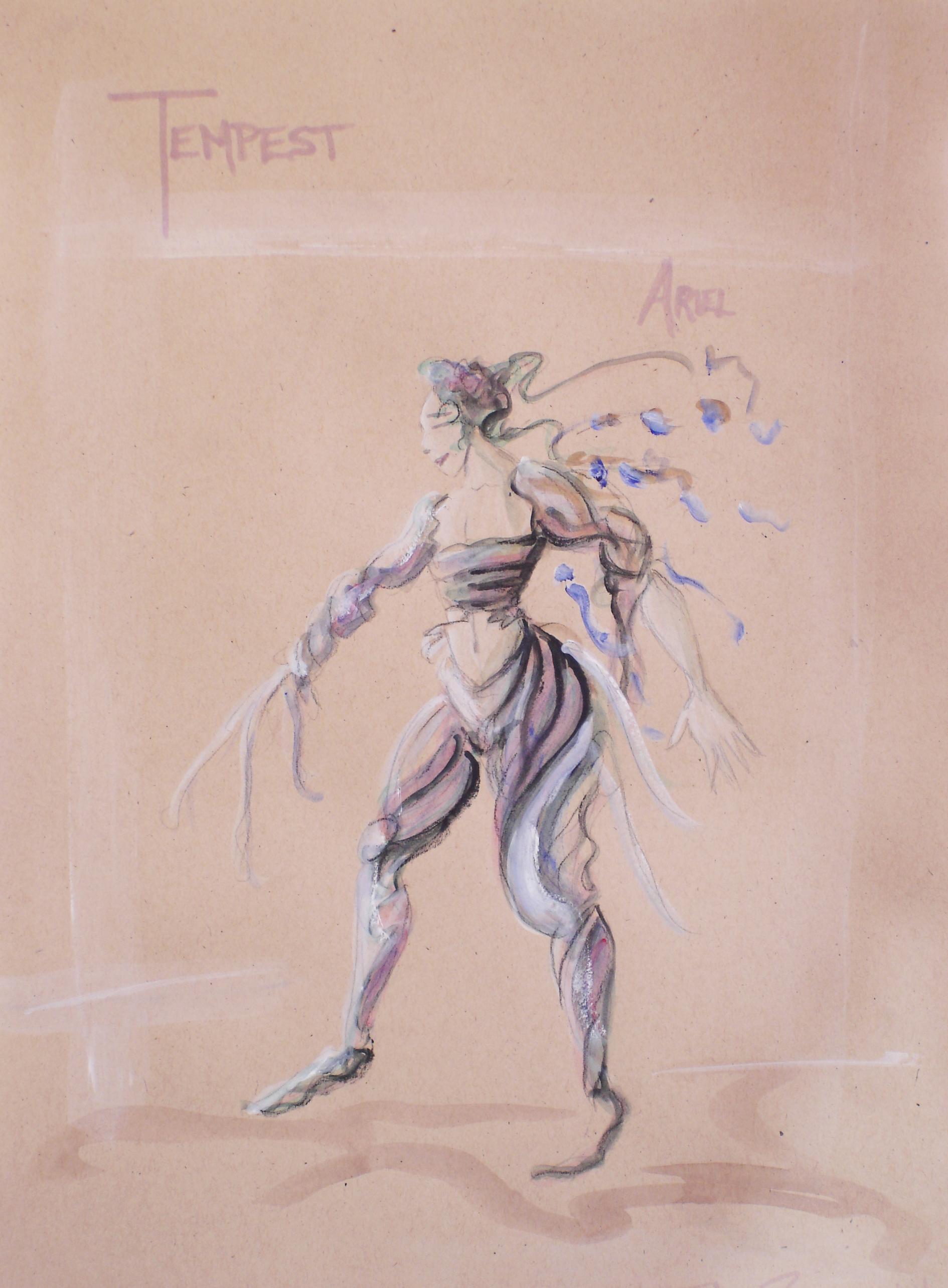 Concept Rendering - Ariel, The Tempest