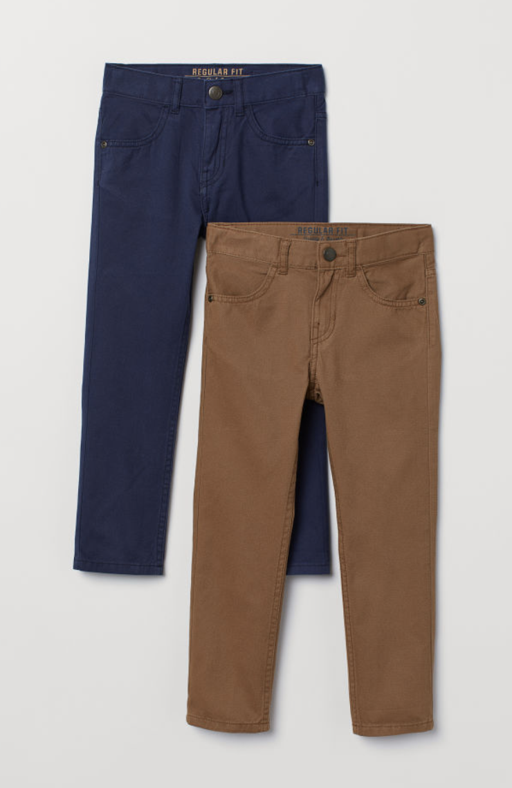 Pants - Pack of two for $20. Enough said.