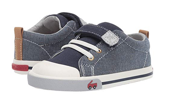 Shoes - See Kai Run is one of our favorite brands for stylish everyday shoes. I love the combination of colors on this chambray pair. They also come in a high-top version which is adorable; I just like the lower style with shorts going into summer.