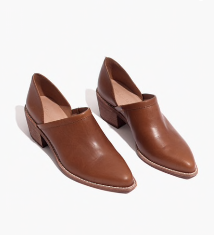 Low cut Bootie - I have been looking for the perfect brown bootie for years and I love this pair from Madewell. They not only are the perfect shade they are incredibly comfortable.