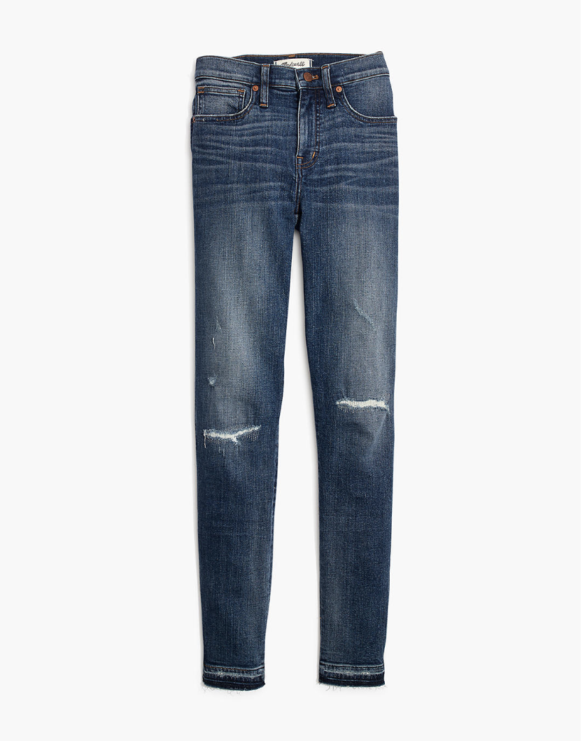 Jeans - The right amount of distress with an old denim feel.