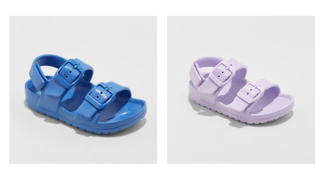 Sandals - Waterproof sandals are a must in summer. And these are only…. at target.
