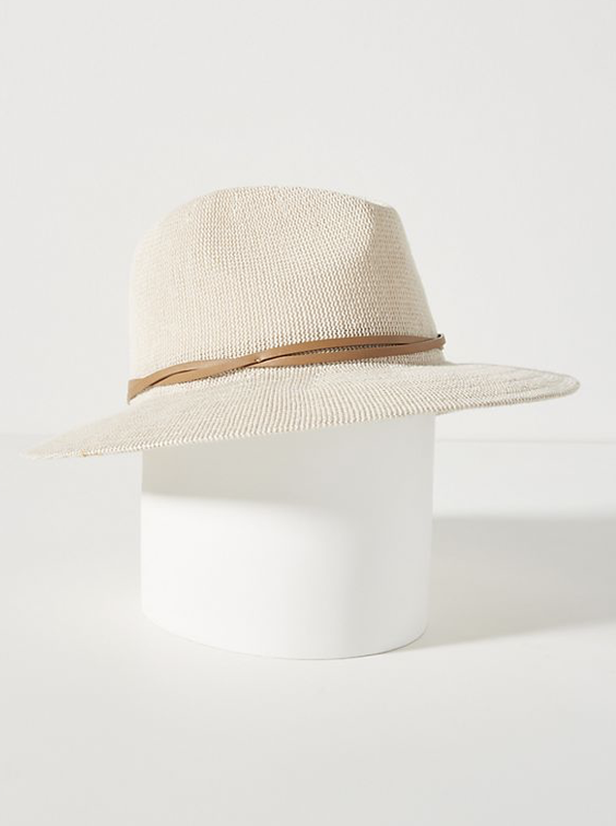 Hat - I try my best to keep the sun off my face in the summer and so a great hat is always something I'm on the hunt for. I love the look of this neutral toned hat from Anthropologie.