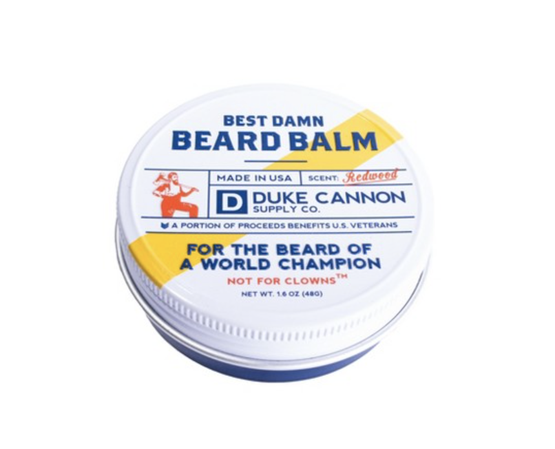 For the Bearded Man - If the man in your life sports facial hair, any length, this is a great and easy addition to the maintenance routine. You'll both thank me.