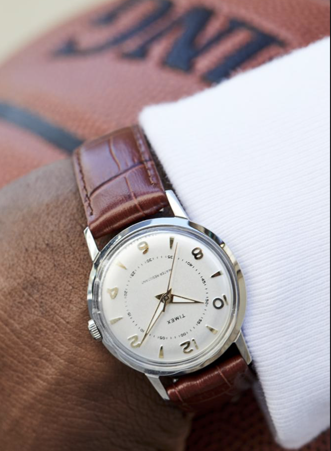 For the Stylish Man - There are very few accessories a man can wear. A watch is always a great fashion piece. I've been eyeing this piece for the last few weeks and think it's a great blend of style and function.