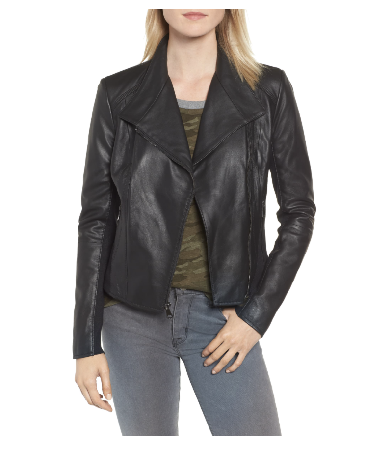 A great mid range leather jacket option at $225