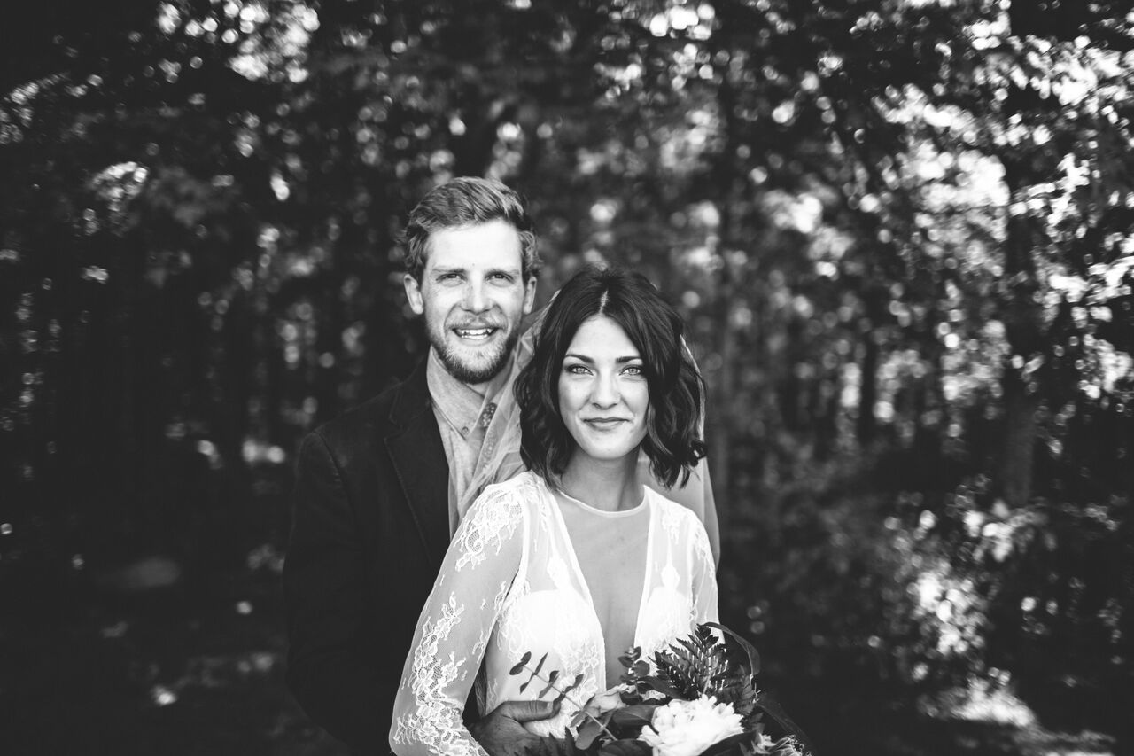 May 27, 2018 - our wedding day.