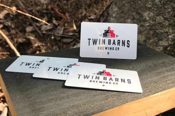 E-GIFT CARDS - Looking for that perfect gift for that special someone? We have the perfect one! How about a Twin Barns Brewing Company Gift Card?Buy your gift card here!