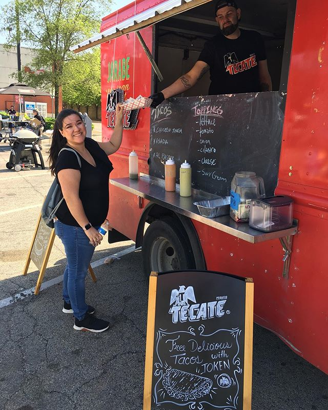 Had a wonderful day activating our #Tecate Taco Truck Program, it was a beautiful day to enjoy an iced cold Tecate and a delicious taco! 🍺 🌮 #TacoTruck #SundayFunday #ElementoL2