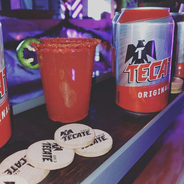 Great kickoff to our new @tecate #MEchelada program in Chicago. Nothing better than a refreshing new way to enjoy a refreshing chela for brunch. #elementoexperience #tecate #kickoff #brunchinginchicago