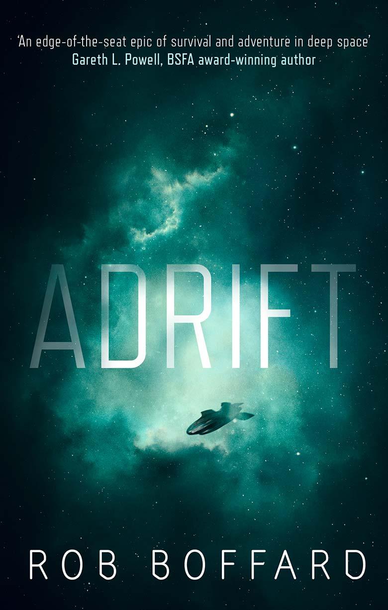 Scifi novel Adrift by Rob Boffard