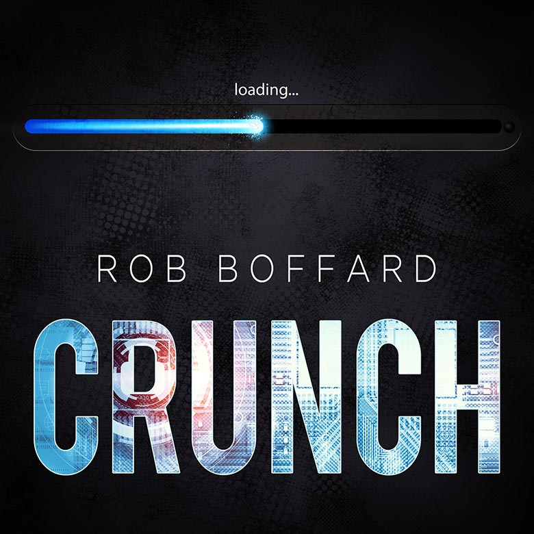 I MADE SOMETHING FOR YOU. IT'S FREE. - I'm Rob Boffard. I'm a scifi author - specifically, I wrote the Outer Earth series (TRACER, ZERO-G, IMPACT), and Adrift. Those books you have to buy (I know, sad trombone). Fortunately, I made something for you, and it won't cost you a cent.It's an audiobook called CRUNCH. It's a scifi thriller about corporate espionage at a videogames developer, and you're going to love it. Did I mention it's free? It's free. Just punch your email in the box below to get the download link.