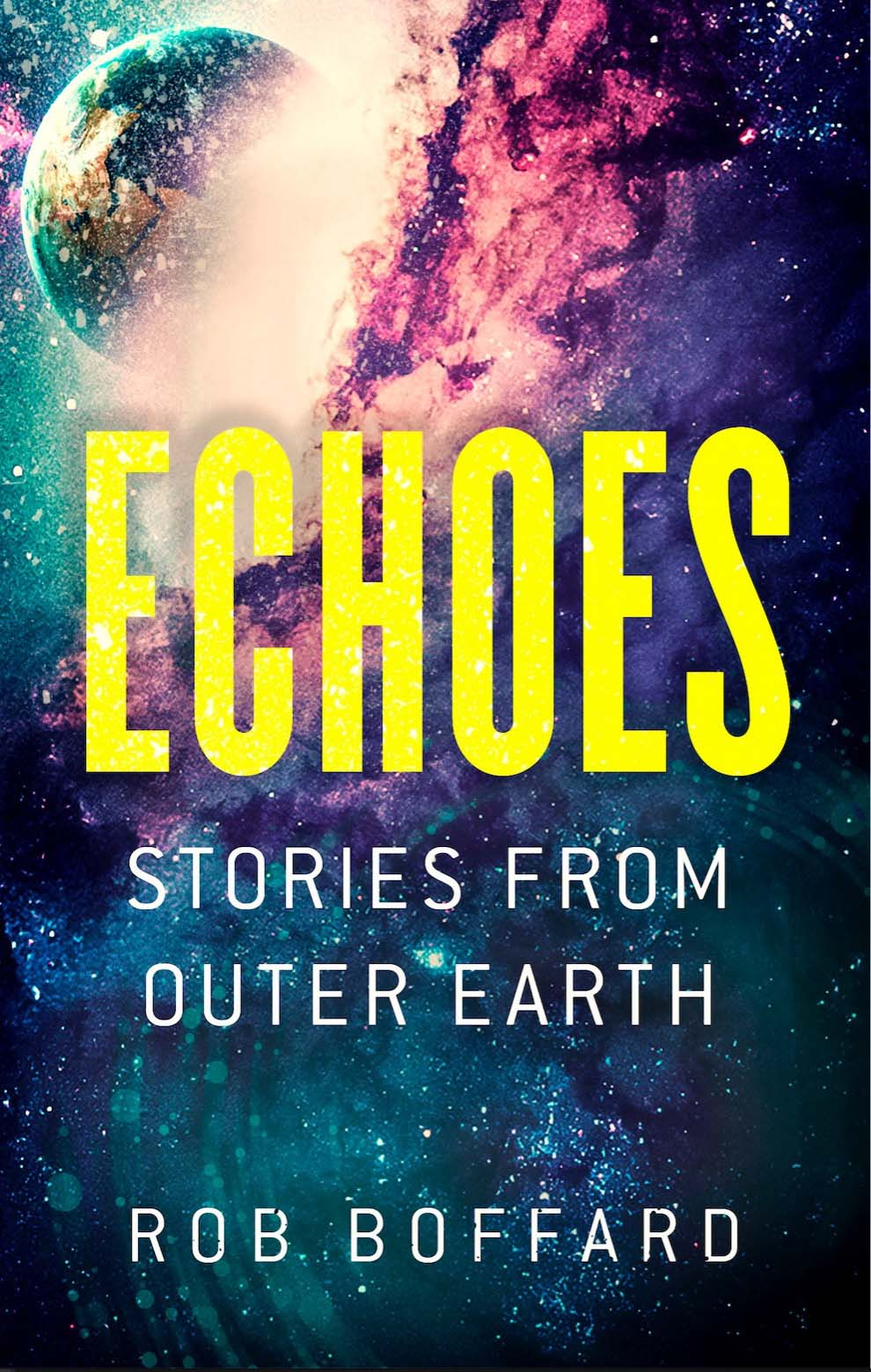 ECHOES (STORIES FROM OUTER EARTH) - Out Now - Orbit BooksRob Boffard's Outer Earth series thrilled readers with its no-holds-barred action and adrenaline, as it follows the story of Riley Hale's attempts to save both humanity's last refuge – and humanity itself. Yet Riley has friends helping her in her efforts, and their backstories are every bit as messy and intricate as her own.This new collection, comprising four action-packed short stories, reveals the secret histories of Riley's closest friends and allies, as they try to make their way in the dangerous, vibrant world of Outer Earth.Find Out More | Buy It!