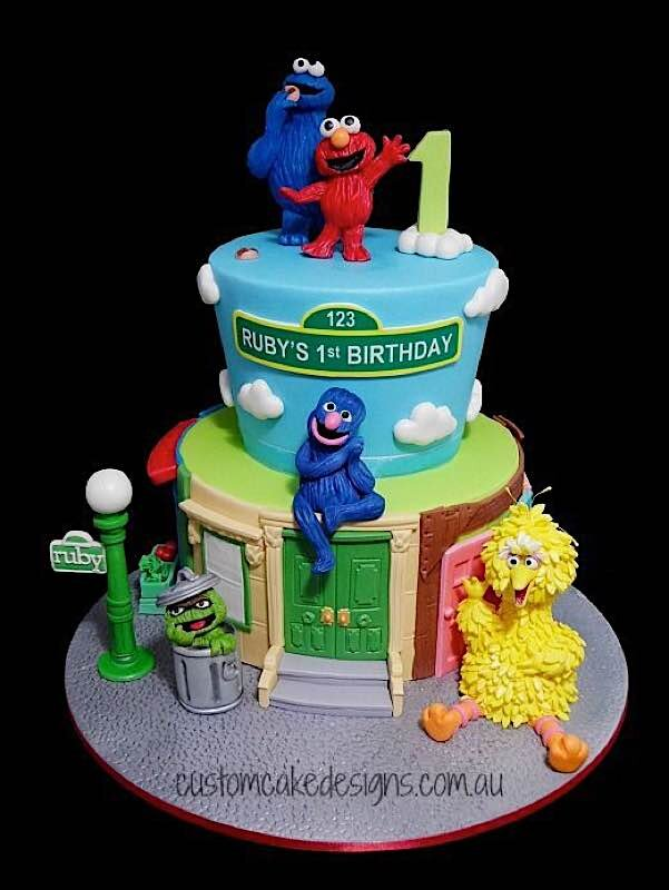 10 Sweets For Sesame Street Day