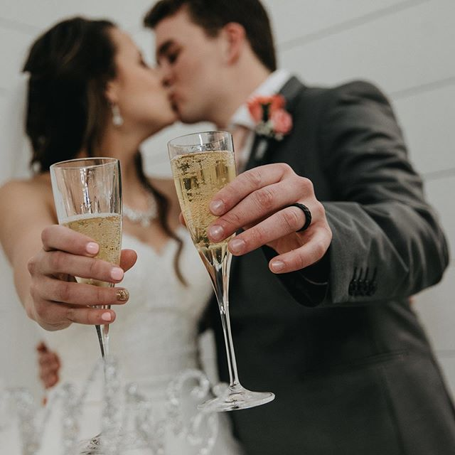 Cheers! It's almost Friday. 😍  #photography #weddingphotos #weddingphotography #wichitaweddings #wichitaweddingphotography #weddingvideo #ilovewichita #kansasbrides #brides #weddings #ido #thekansasbride #wichitabride #wichitabridalexpo
