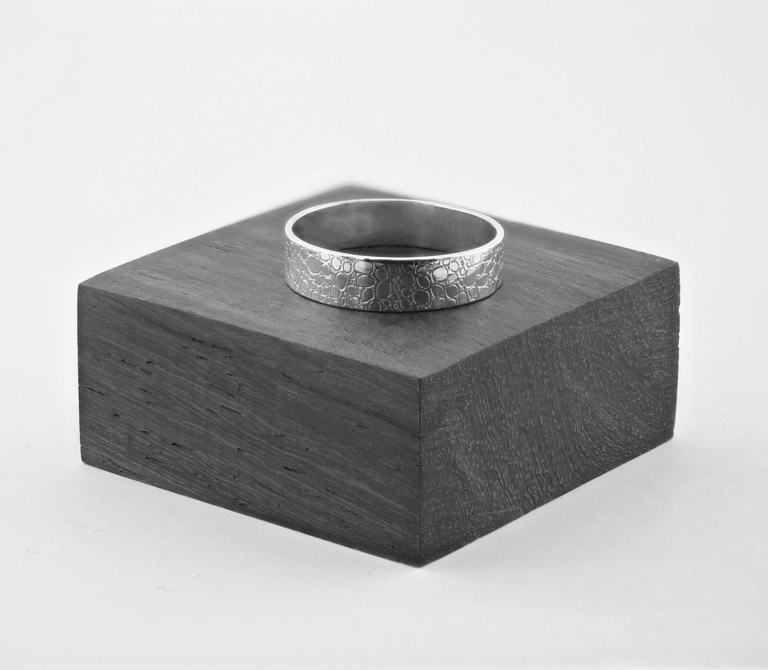 This is a ring that I designed at the same time as this collection based on a general cell pattern found in organic life.