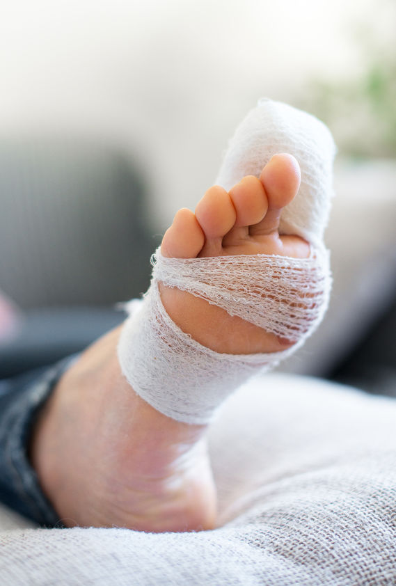 Nail surgery under local anaesthetic