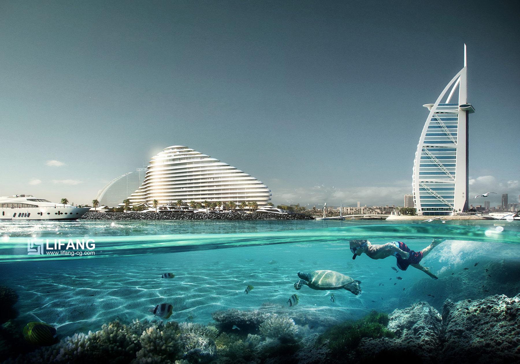 Marsa Al Arab , Dubai
