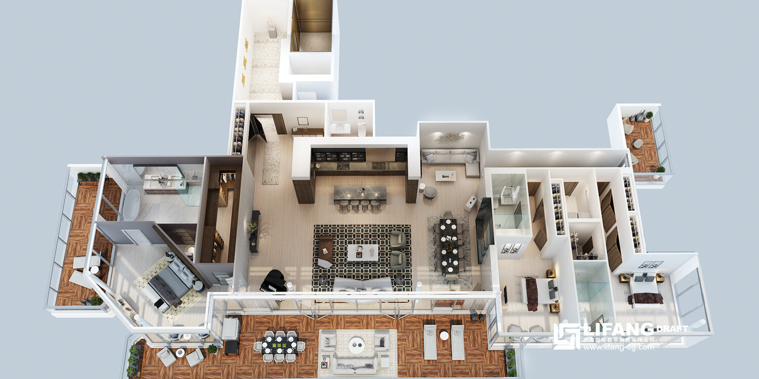 3d Floor Plans Architectural Rendering Animation Walkthrough Service Experts Lifang Us