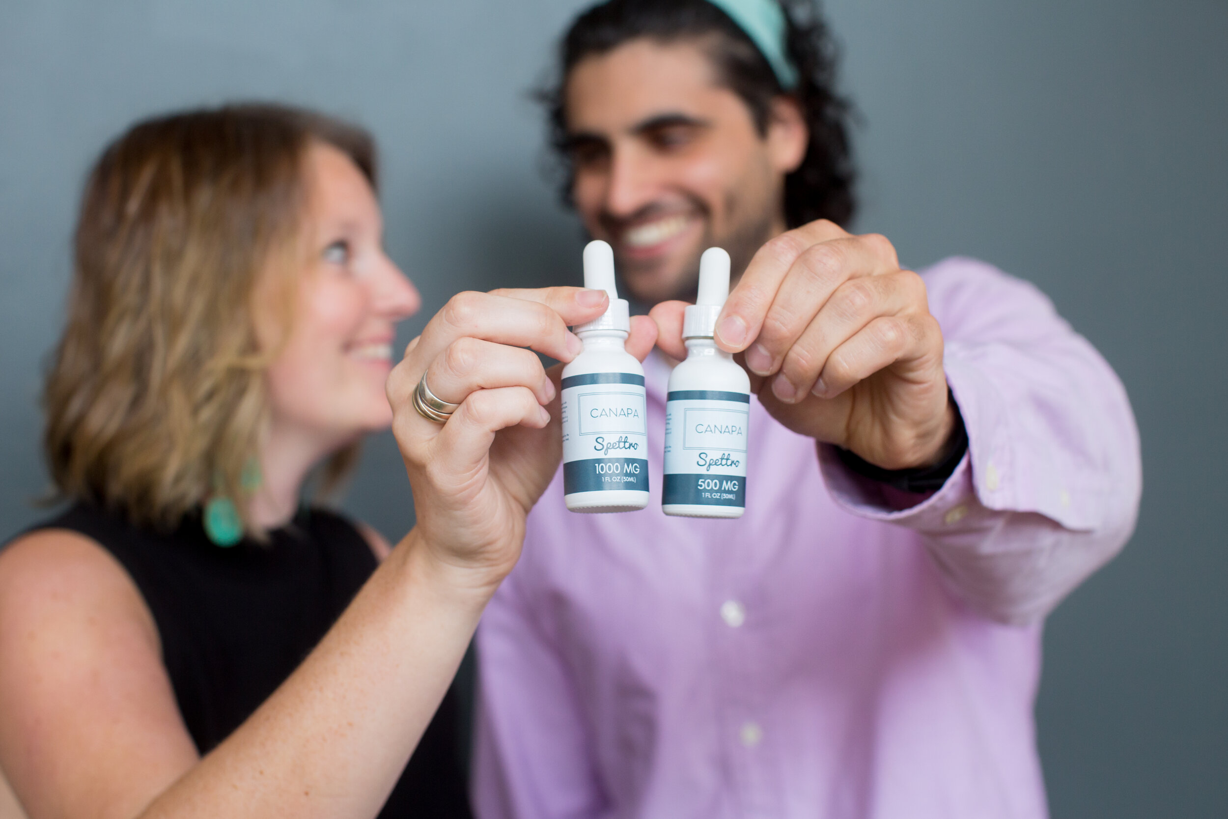 Meet The Founders - Molly and Rubin came to this wild industry for three reasons - a passion for CBD, a frustration with the lack of transparency in the industry, and chronic migraines.