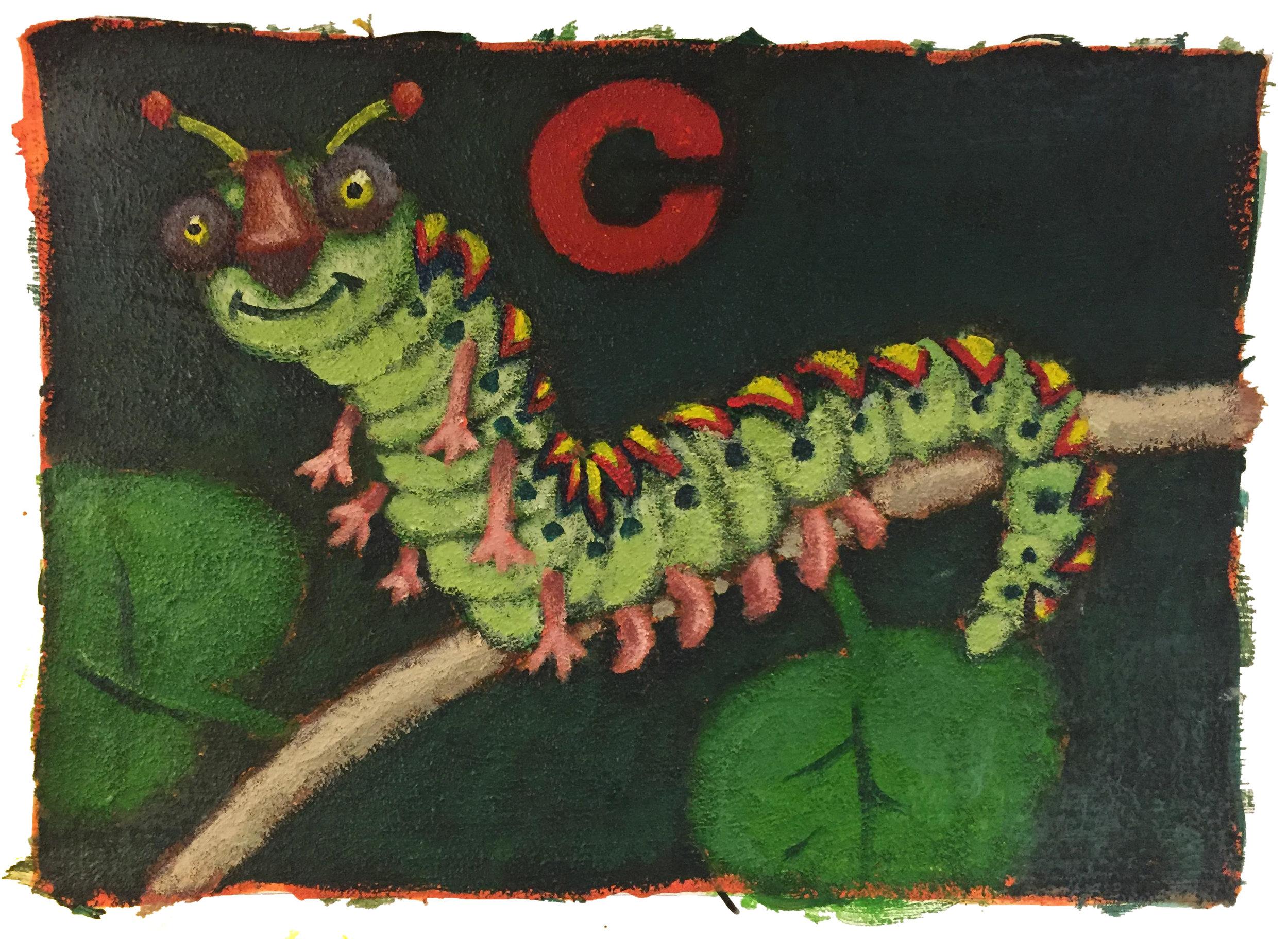 c is for catipillar.JPG