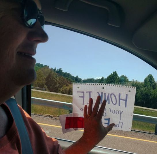 Honk! If you are going to see the Eclipse.