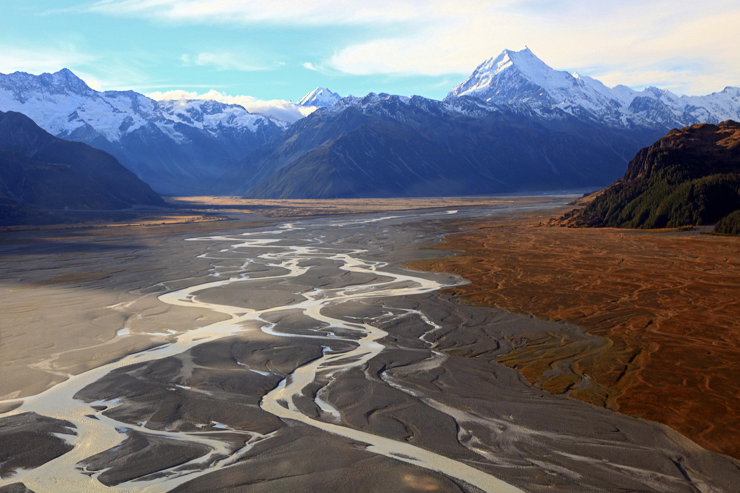 Tasman Glacier, South Island