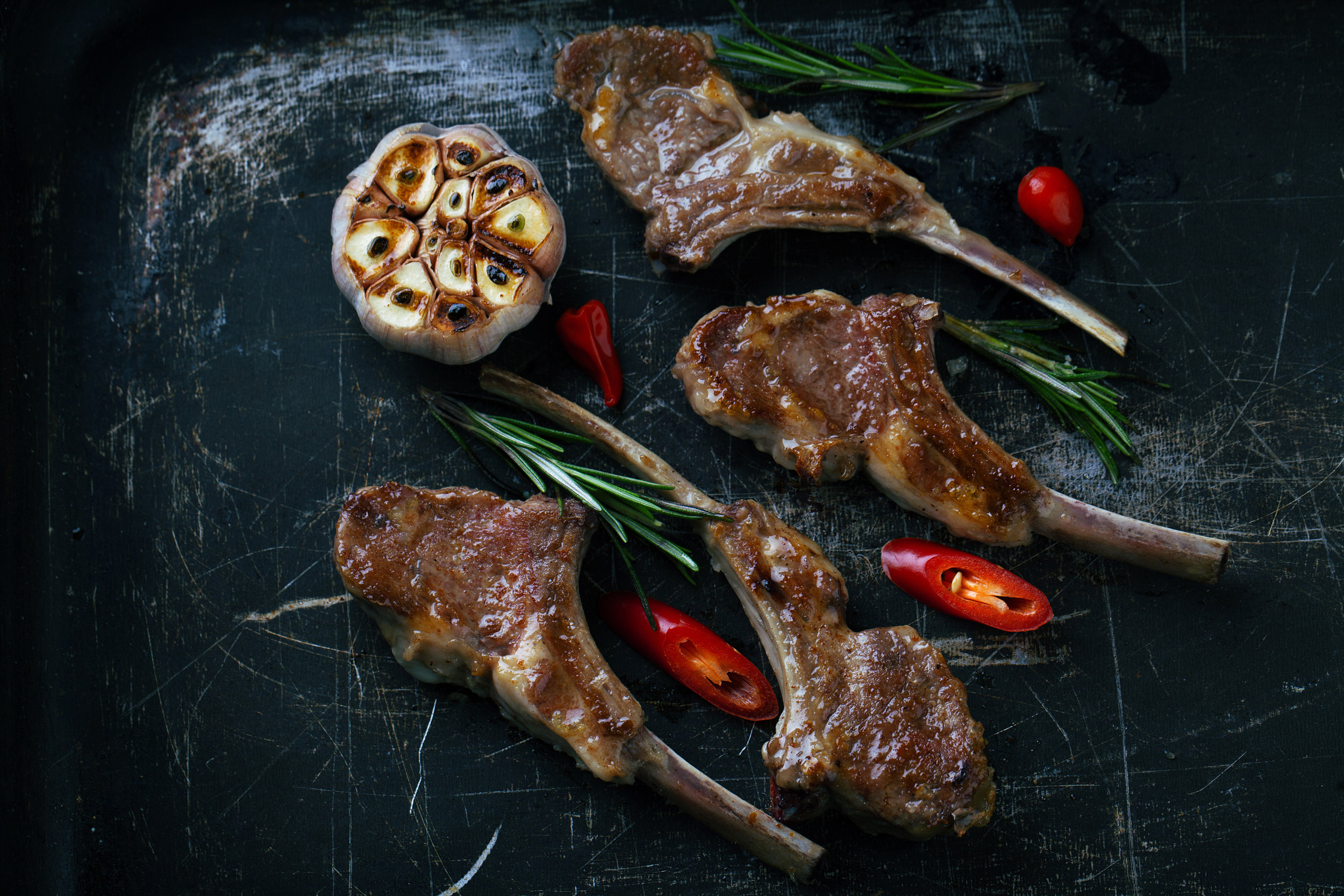 Try with Lamb Chops with Rosemary
