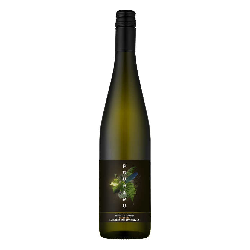 PINOT GRIS - Textured, giving and very gratifying to sip. Characters reminiscent of apricot, nectarine.