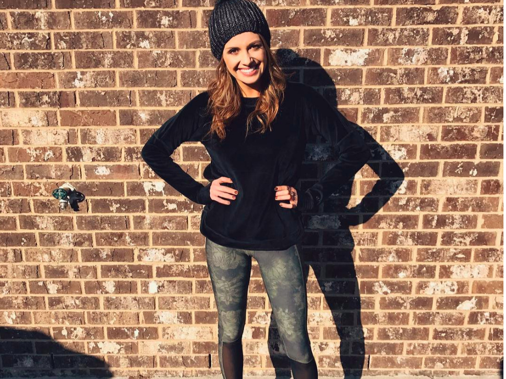 """- Carly Pearce - """"She is on an international tour, and in the middle of traveling, sound checking, performing, and songwriting, still manages to run six to eight miles a day, five to six days a week."""" - Runners World Mag"""