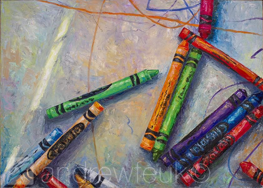 Beau's Crayons #3