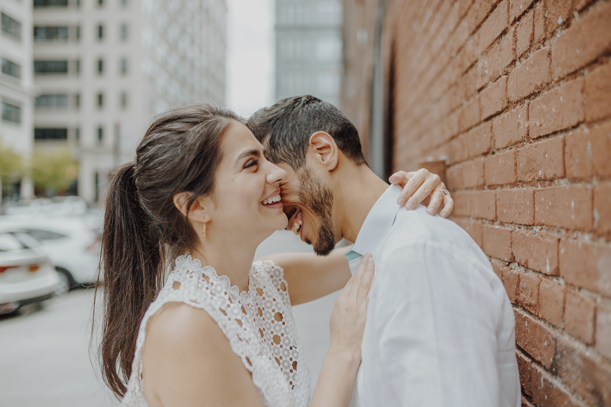 Dumbo engagement photographers
