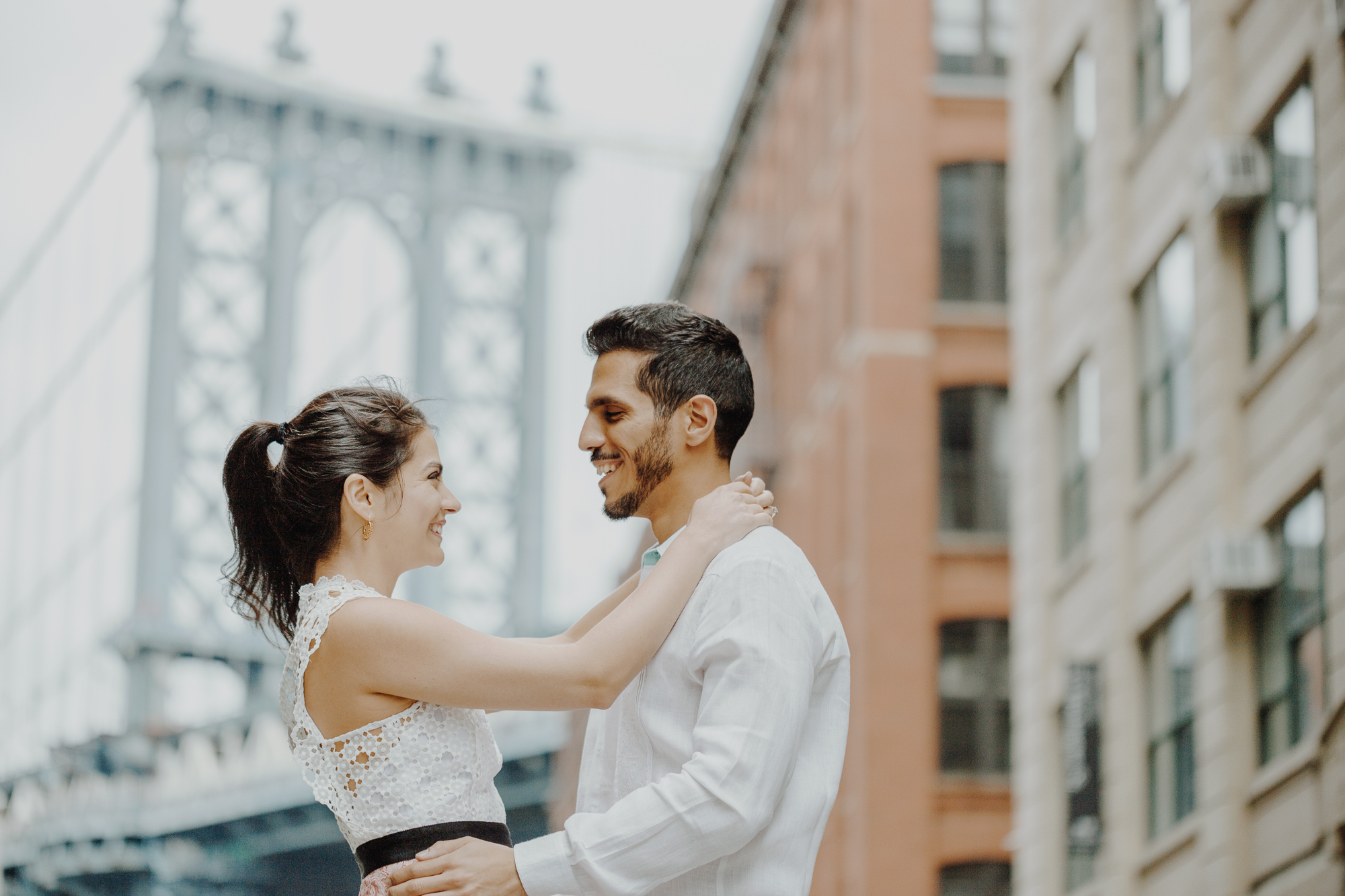 Dumbo engagement photography