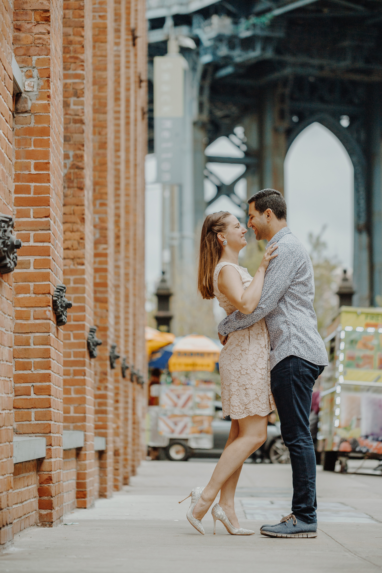 Couples photo shoot in Brooklyn