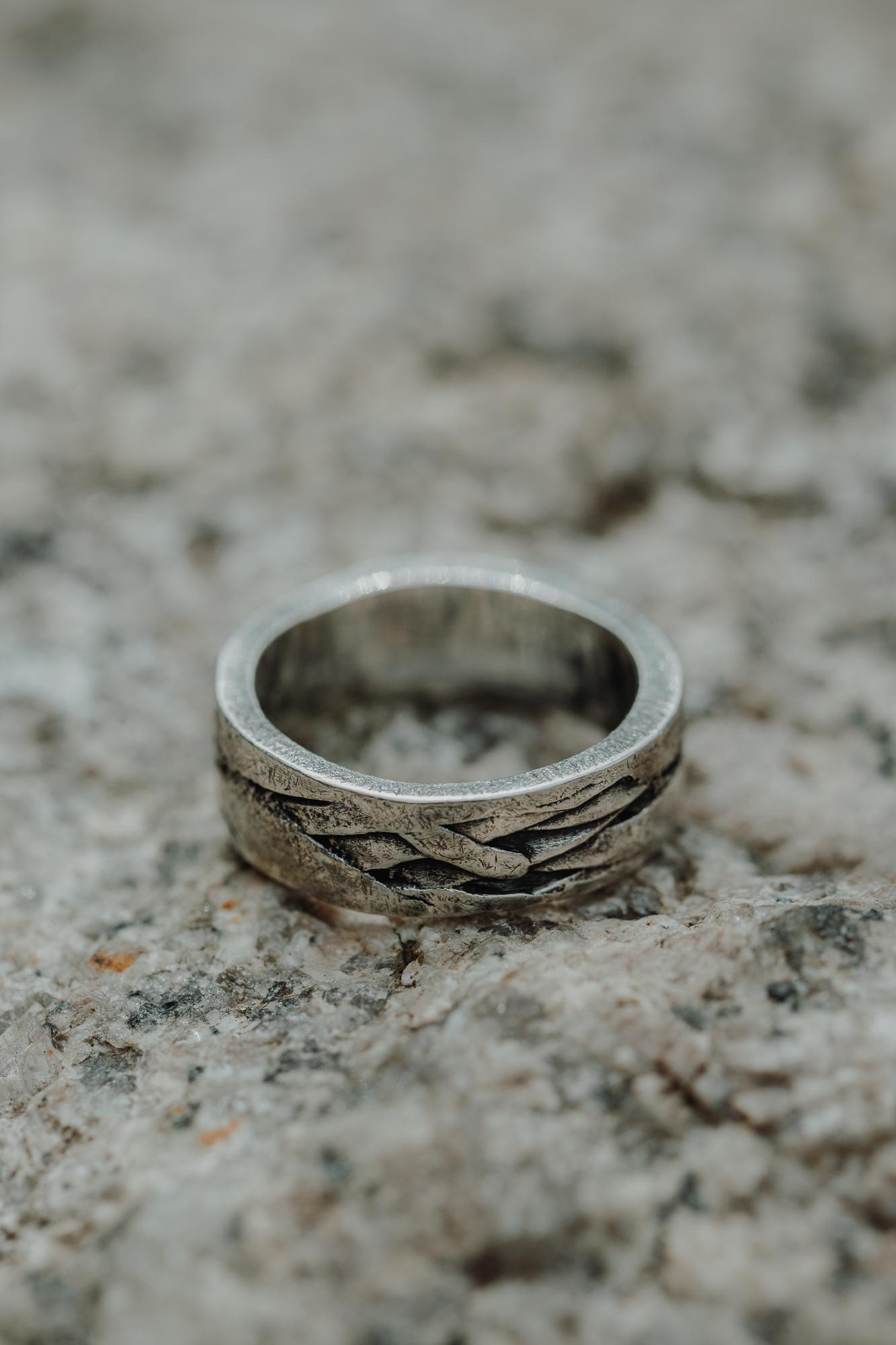 Unique wedding rings for men in Brooklyn