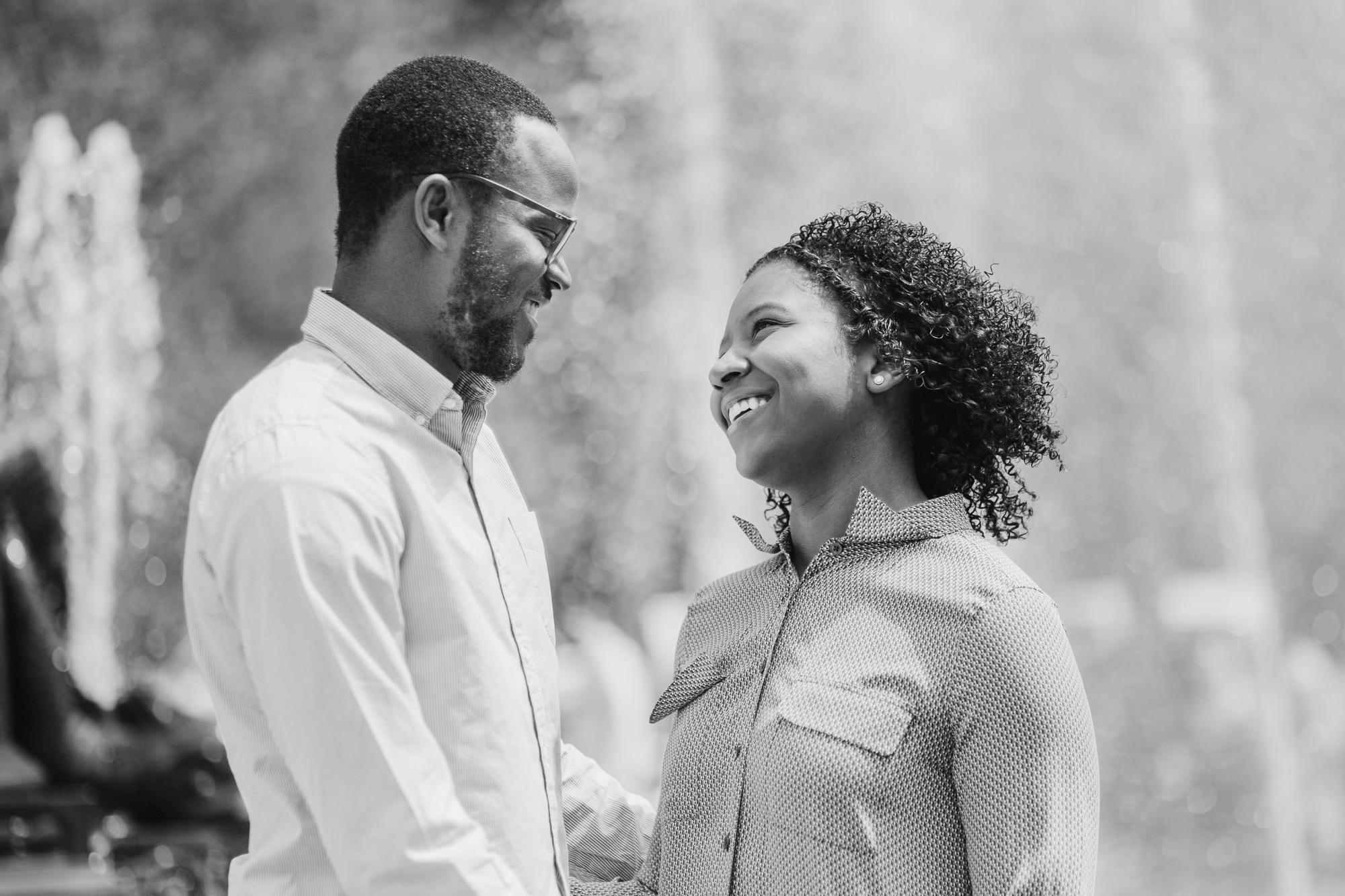 Grand Army Plaza couples session