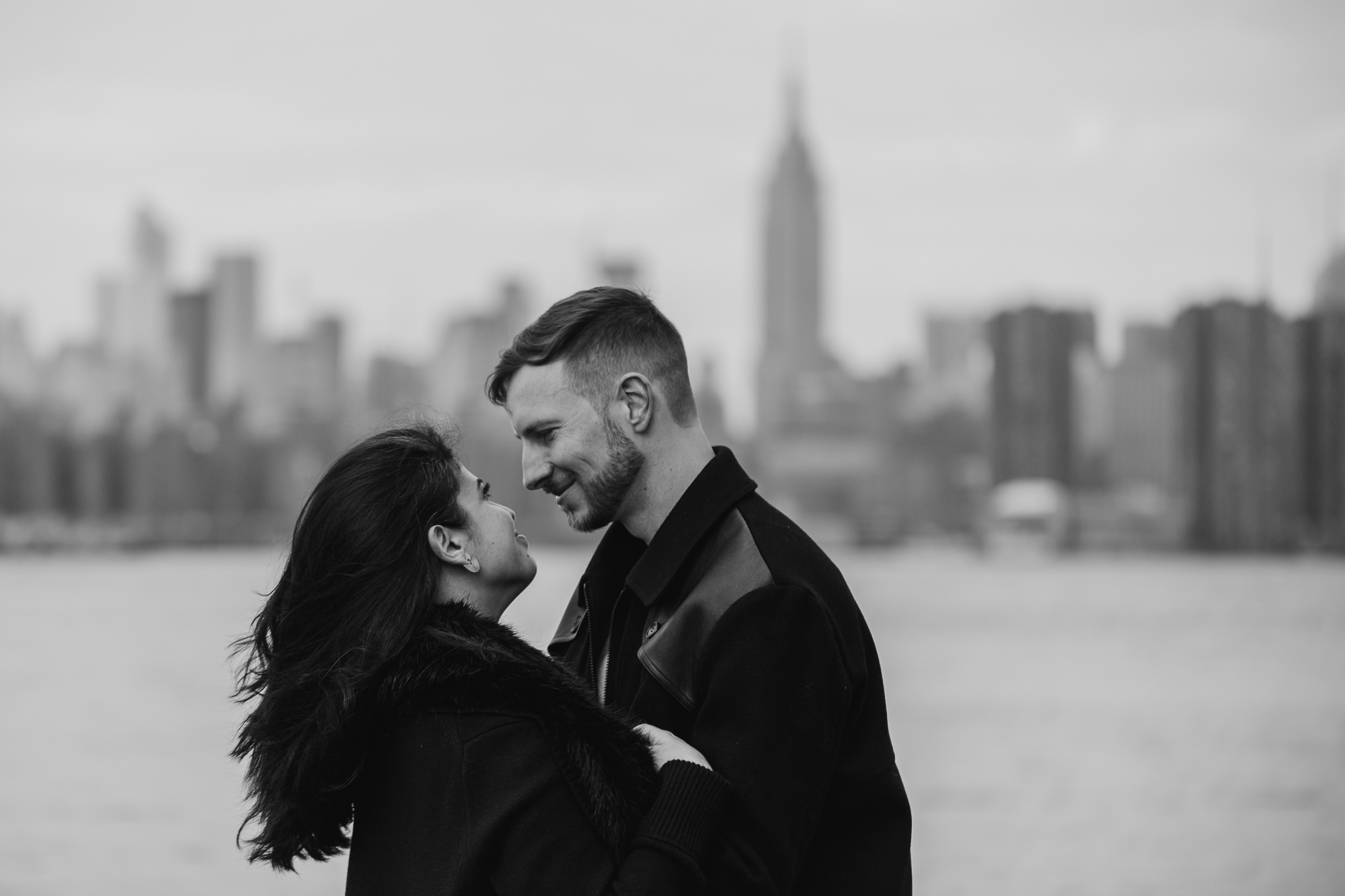 East River State Park engagement photography