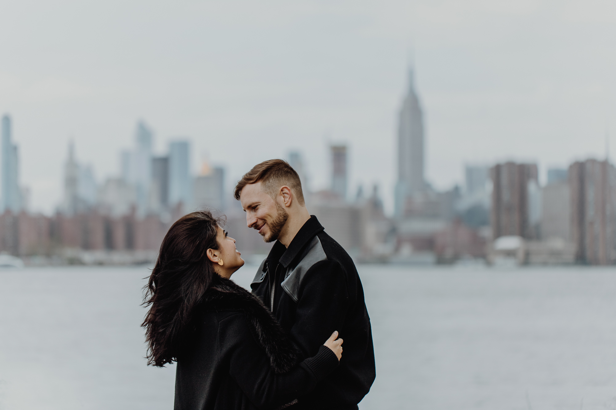 Brooklyn engagement photos