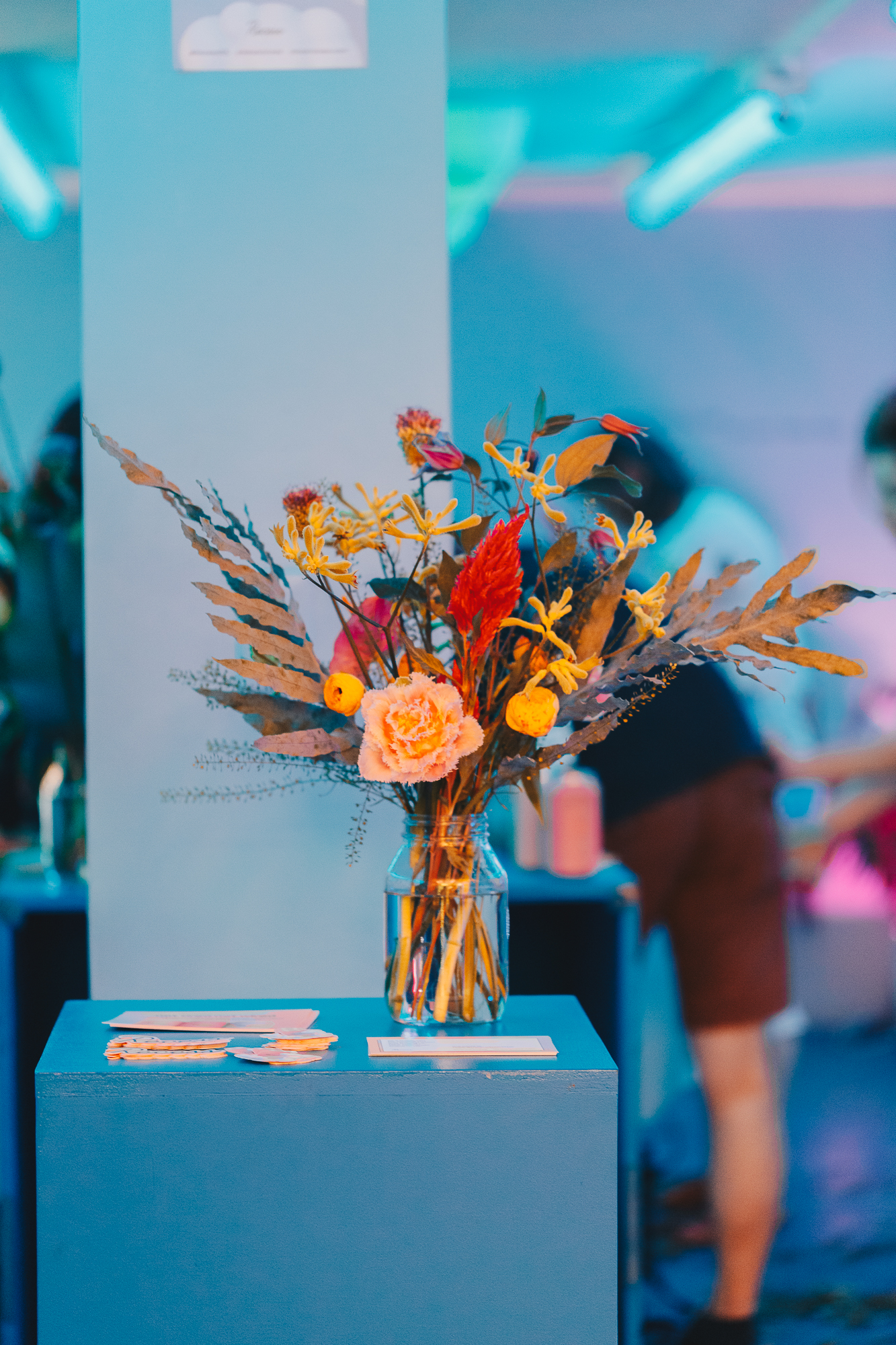 Florist workshop Brooklyn