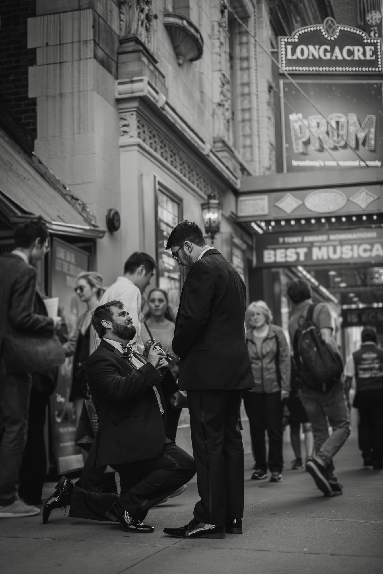 New York secret proposal photographer