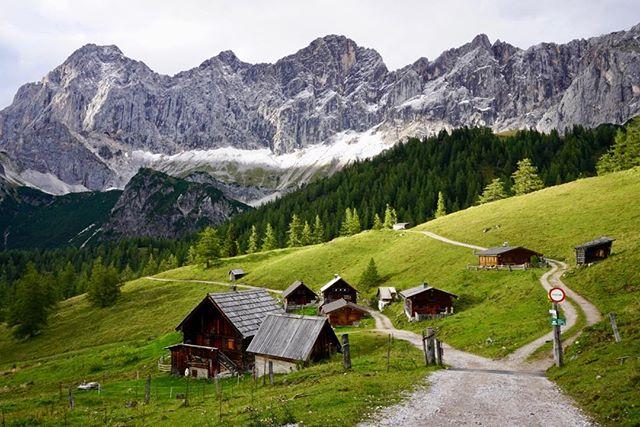 The beauty of #Austria. Roads on the backside of the Dachstein. . . . . . . . . . . . . . . . . .  #hikingtheglobe #alpselevated #austrianalps #nature #optoutside #getoutside #gosau #outdoors  #hikingboots #alps #hiking #hikingadventures #naturelovers #landscape #wanderlust #offthegrid #mountainlife #godsgreenearth #adventureawaits #bergwandern #wandern #wanderlusting #mountainbiking #naturephotography #hike #whyihike #dachstein