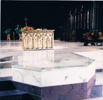Cathedral Marbleized Platform