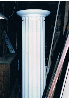 Finished Column with Capital for Equinox House