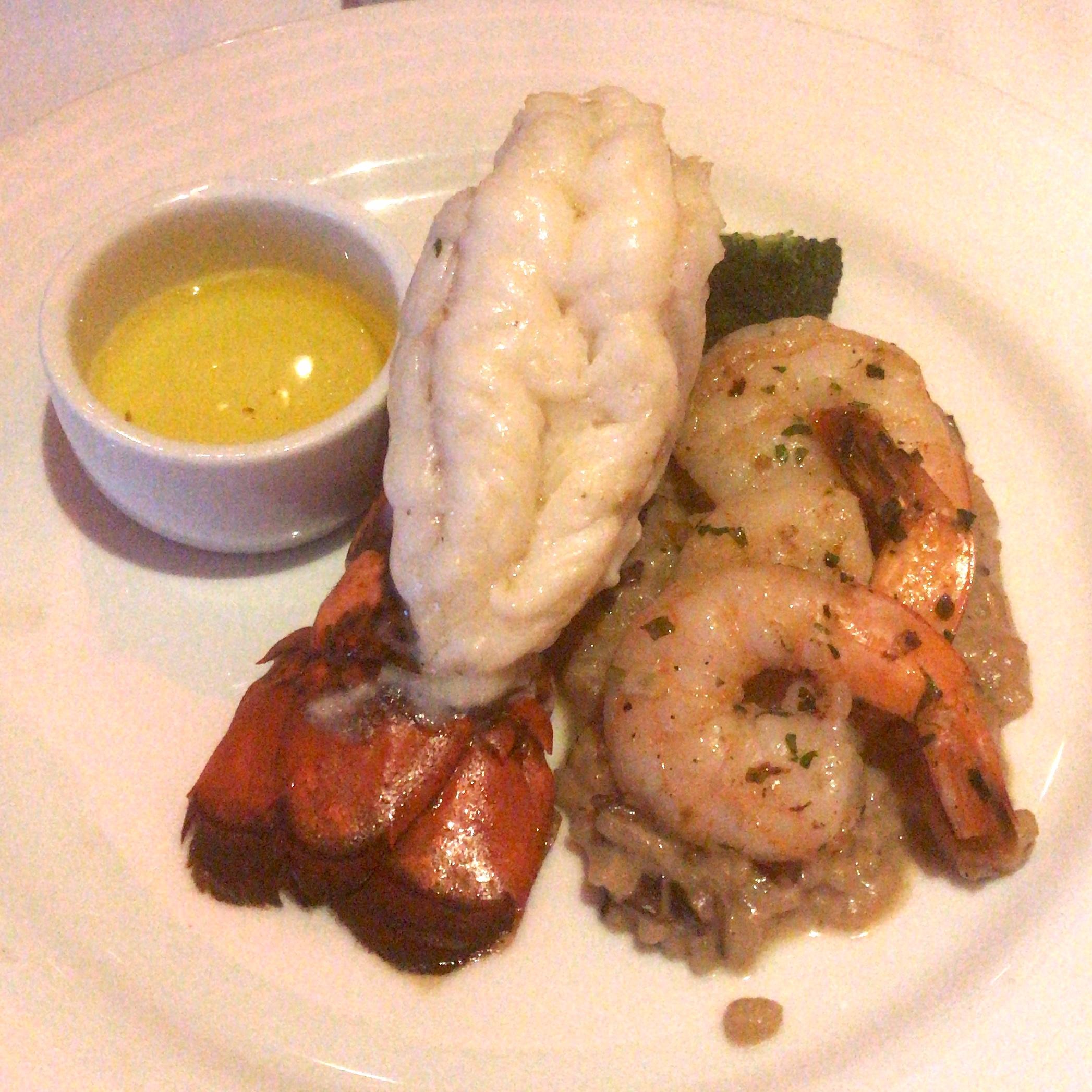 Lobster Tail & Grilled Shrimp